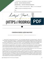 O Exercício de Escrever_ a Lição de Shelby Foote - Rodrigo Gurgel