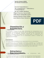 Organizacion y Arquitectura