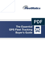 GPS Fleet Tracking Buyers Guide