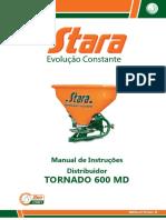 Manual Strara Tornado 600