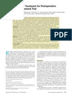 Aromatherapy as Treatment for Postoperative.10