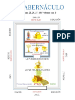 Tabernaculo Tamaño Carta-Modelo