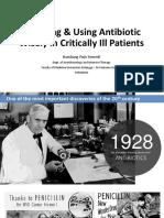 13. Dr. Bambang Pujo Semedi, Sp an - Antibiotics in Critically Ill E4ED Final