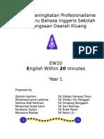 Modul EW20 Year 1.doc