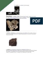 Menas de Minerales