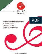 Brahms Pron Guidebook
