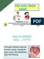 Booklet Karies Gigi Pada Anak