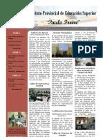 Boletín Informativo Nº 2 del I.P.E.S. Paulo Freire