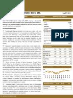 Research Report Dabur India Ltd
