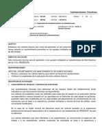 RIT045, Criterios Básicos Para La Aplicación Del Mantenimiento de Equipos