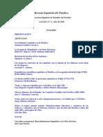 Revista Espanola Del Pacifico 18