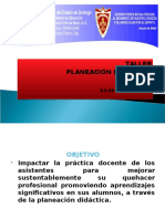 Diapositivas Taller de Planeación Didaáctic