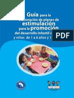 Guia Elaboracion de Planes Estimulacion Promocion Desarrollo Infantil