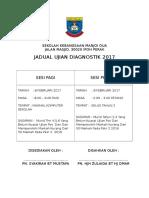 jadual diognostik 2017