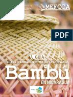 Guia Para La Elaboracion de Muebles y Artesanias de Bambu 3-12-2016