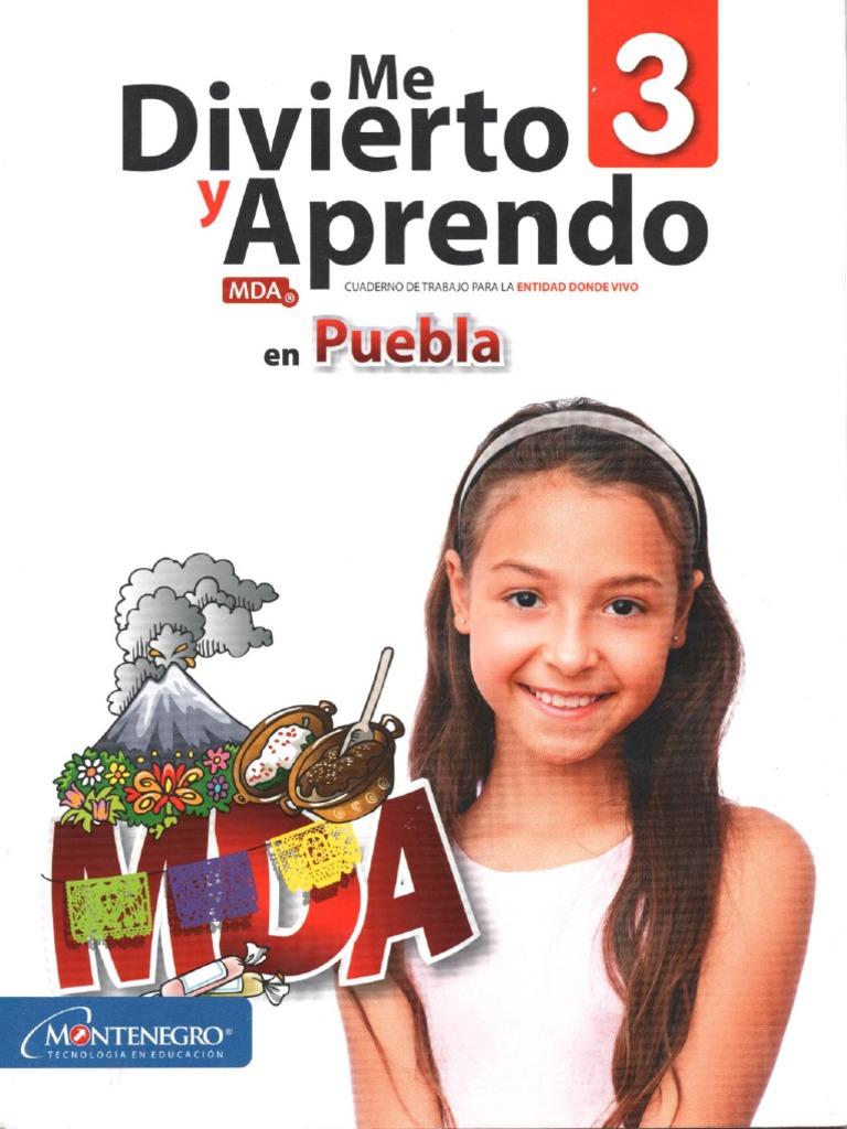 Me Divierto y Aprendo 3 Puebla PDF