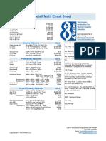 8th and Walton Retail Math Cheat Sheet(1)