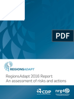 NRG4SD - RegionsAdapt 2016 Report ~ An assessment of risks and actions