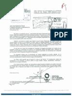 RESPUESTA A LA INVITACIÓN QUE HIZO EL PRESIDENTE DE SAN PEDRO CHOLULA AL GOBERNADOR TONY GALI