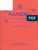 Namdev Life and Philosophy