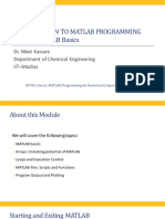 MATLAB Programming for Numerical Computations