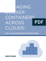 Managing Docker Containers Across Clouds White Paper by Rightscale