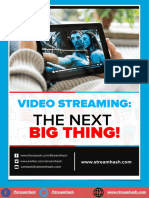 Video Streaming - The Next Big Thing _ StreamHash