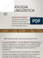 Metodologia sociolinguistica