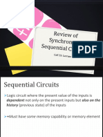 1A Review of Synchronous Sequential Circuits
