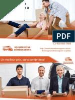 Comparer 5 soumissions de déménageurs à Québec