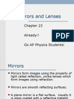 Chapter 23 - Mirrors and Lenses