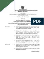 PERMENPAN No. 19 Tahun 2009 tentang Pedoman Kendali Mutu APIP