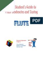 Intonation Workbook for Flute