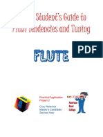 Intonation Workbook for Flute