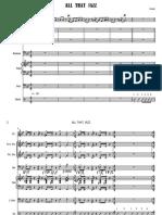 All That Jazz-4 - Full Score