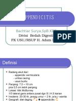 K-25 Acute Appendicitis