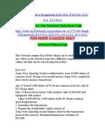 ACCT 504 Week 6 Homework (E10-19A, E10-25A, E12-16A, E12-20A)