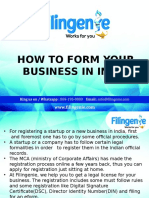 How to Form Your Business in India