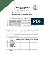 portafolio criterios de calidad y lista