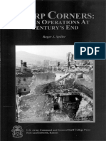 Sharp Corners - Urban Operations at Century's End_Roger J. Spiller