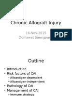 Chronic Allograft Injury