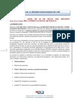 12. Régimen Disciplinario Cnp