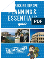 Backpacking Europe Planning Essentials Guide