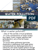 Ecol Water Pollution