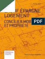 Pierre-François GOUIFFÈS - L'actif épargne logement, Concilier mobilité et propriété