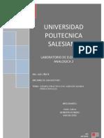 Informe deL LABORATORIO