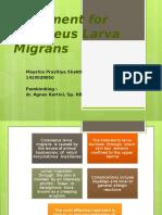 Treatment for Cutaneus Larva Migrans