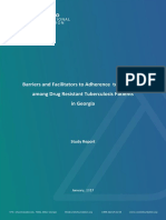 Factors Associated Adherence to TB Treatment in Georgia_Report_ENG