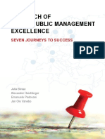 Local Public Management Excellence Seven Journeys to Success 2013
