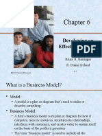 6. Developing an Effective Business Model (1)